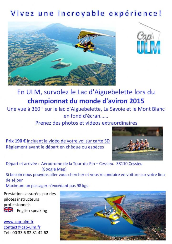 ULM Lac d'Aiguebelette