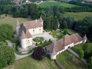 châteaux du Dauphiné en ULM