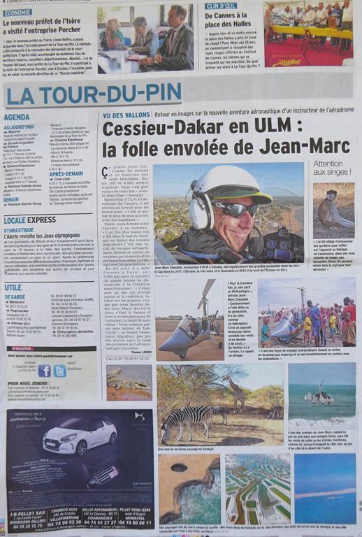 CAP-ULM-LYON-GRENOBLE-CHAMBERY Dauphine-libere