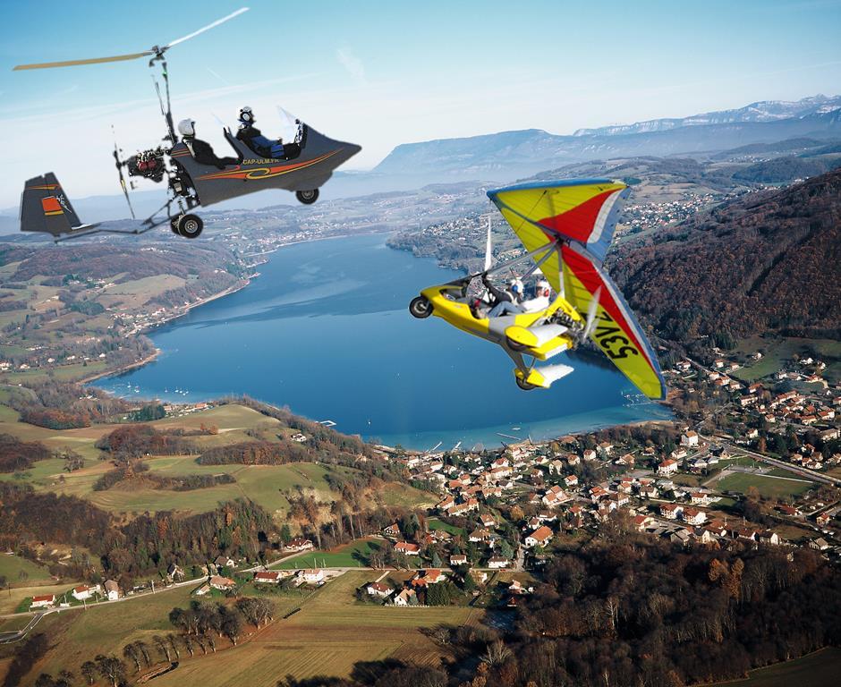 ULM Cessieu Isère Rhône Savoie baptême de l'air initiation au pilotage ULM