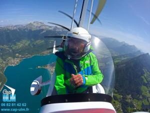 Pilotage autogire Rhône