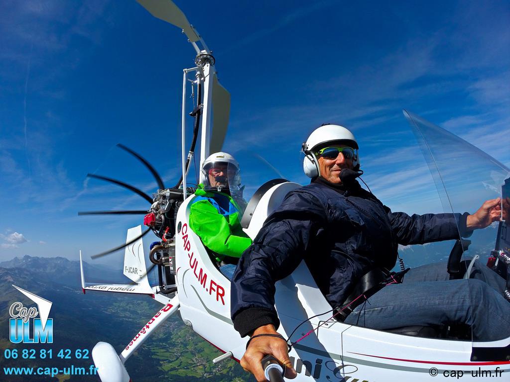 Pilotage autogire Rhône Isère Savoie Ain