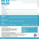 Bon de réservation Vol CAP-ULM