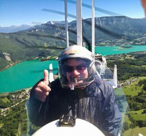 Baptême ULM montagne Rhône-Alpes