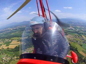 Pilotage ULM Rhône-Alpes La Tour du Pin Lyon