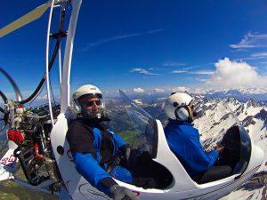 Baptême de l'air ULM Isère-Rhône-Alpes