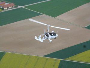 photographie aérienne en ULM autogire