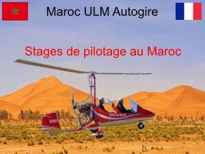 Maroc ULM Autogire